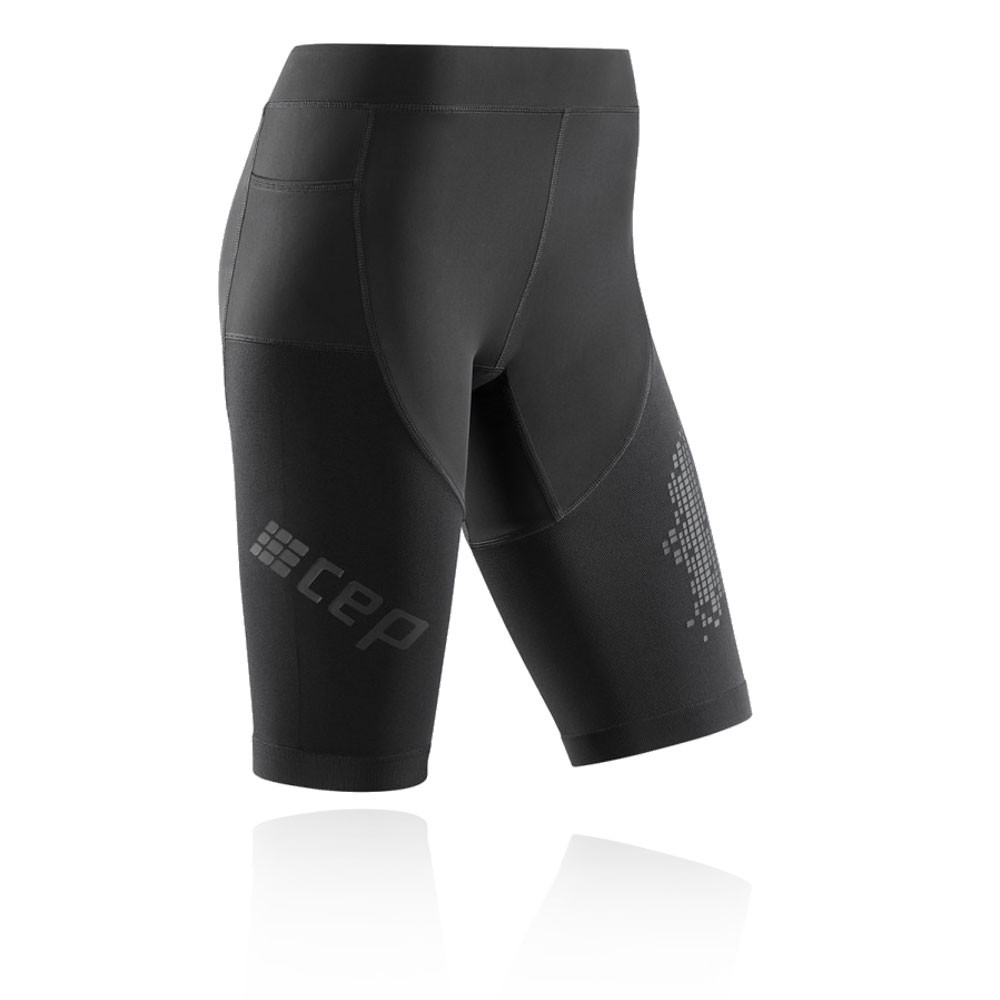 edbef4bd2702 Details about CEP Womens Run Shorts Pants Trousers Bottoms 3.0 Black Sports  Running