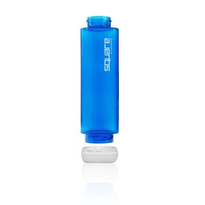 Clean botella Plastic Square 25oz Water botella - AW19