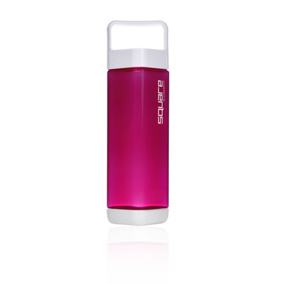 Clean Bottle Plastic Square 25oz Water Bottle - AW19