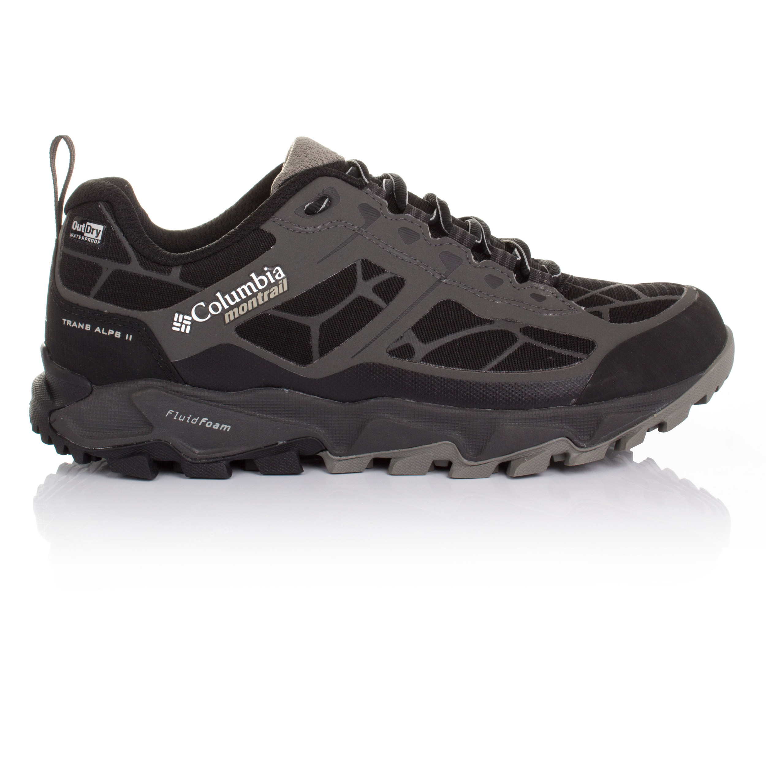 Women s Trail Running Shoes Columbia Trans Alps II Outdry Grey Black