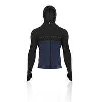 Compressport 3D Thermo Seamless Zip Hoodie - Black Edition - SS19