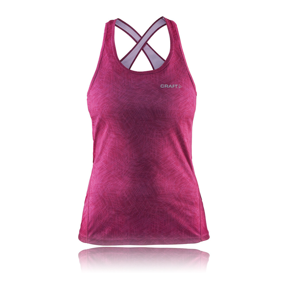 Craft mind women 39 s running vest ss16 for Craft women s run