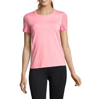 Casall Mesh Sleeve Women's Training T-Shirt