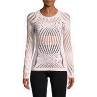 Casall Open Structure Women's Long Sleeve Training Top - SS18