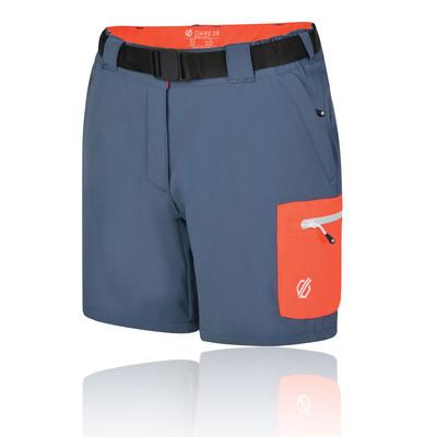 Dare 2b Revify Lightweight Multi bolsillo para mujer trekking pantalones cortos - SS19