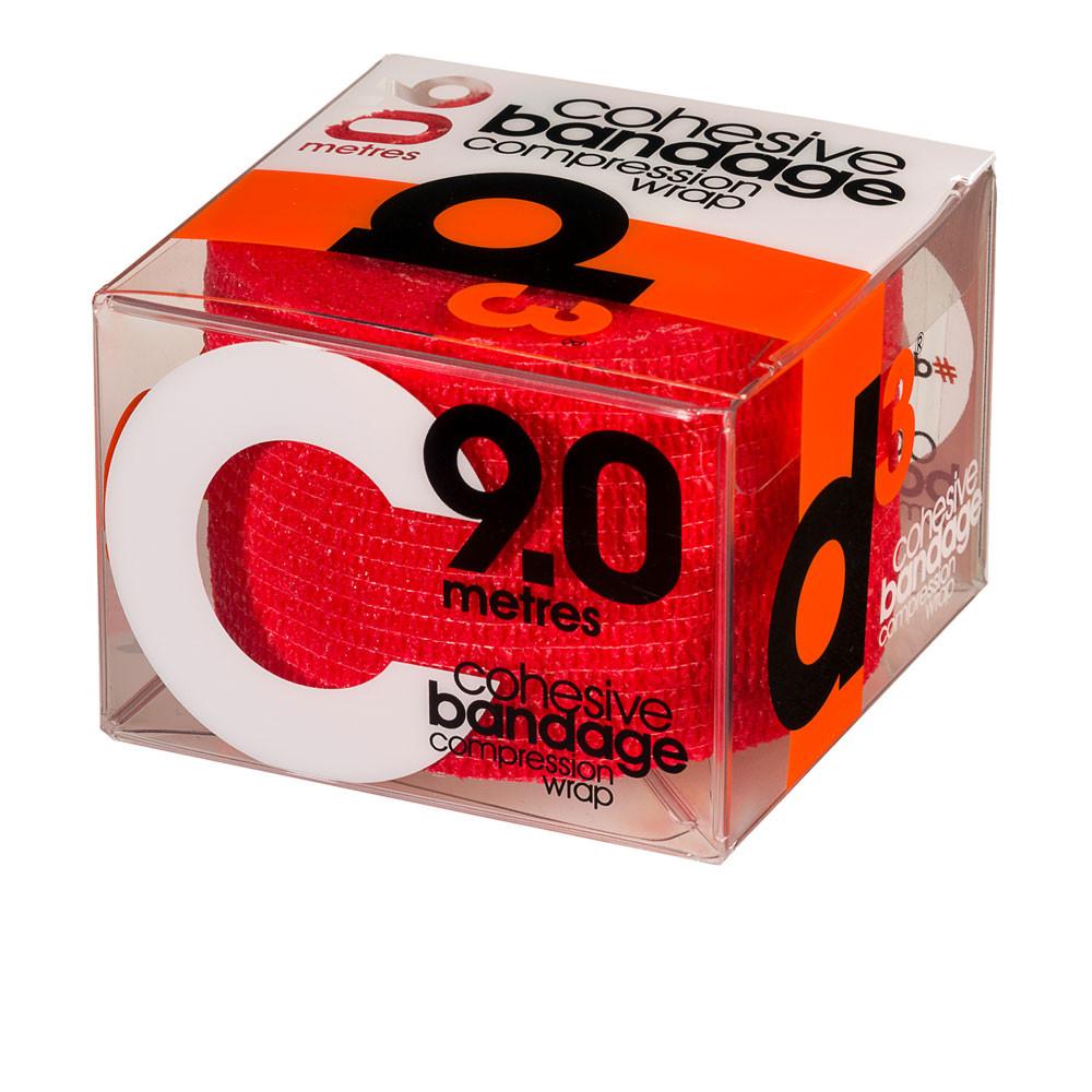 D3 Tape Cohesive Bandage Compression Wrap (9.0mx50mm) - SS19