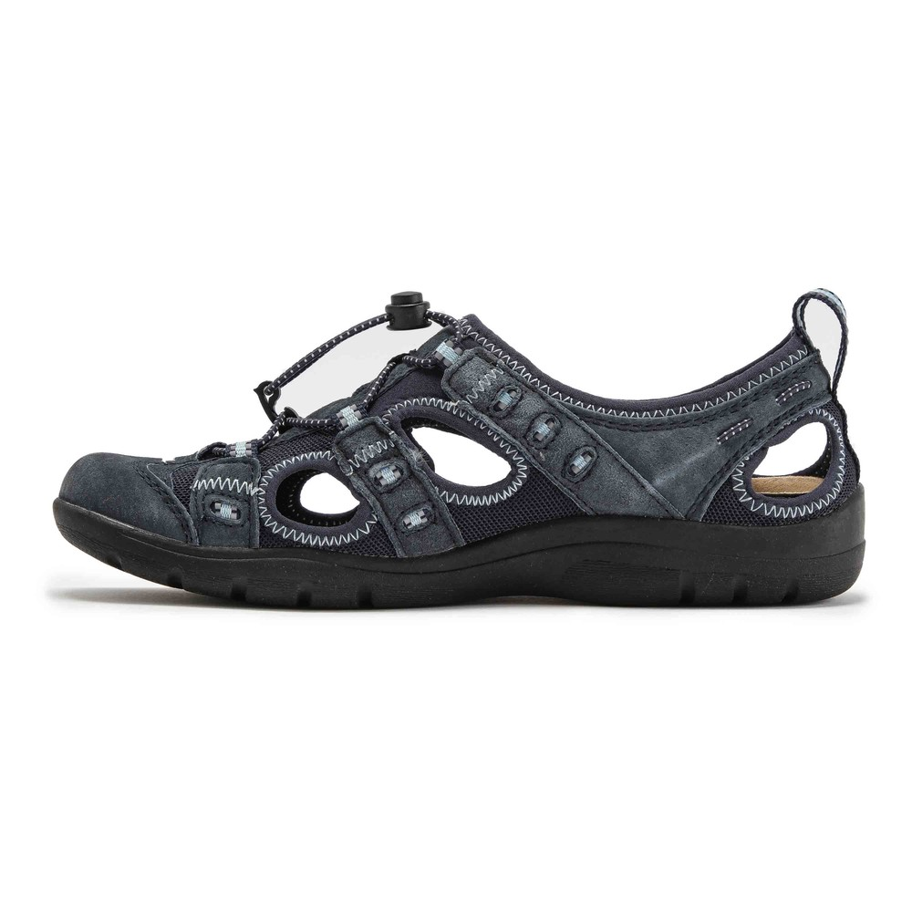 Earth Spirit Femme Winona Chaussures Sandales-Bleu Sports Outdoors