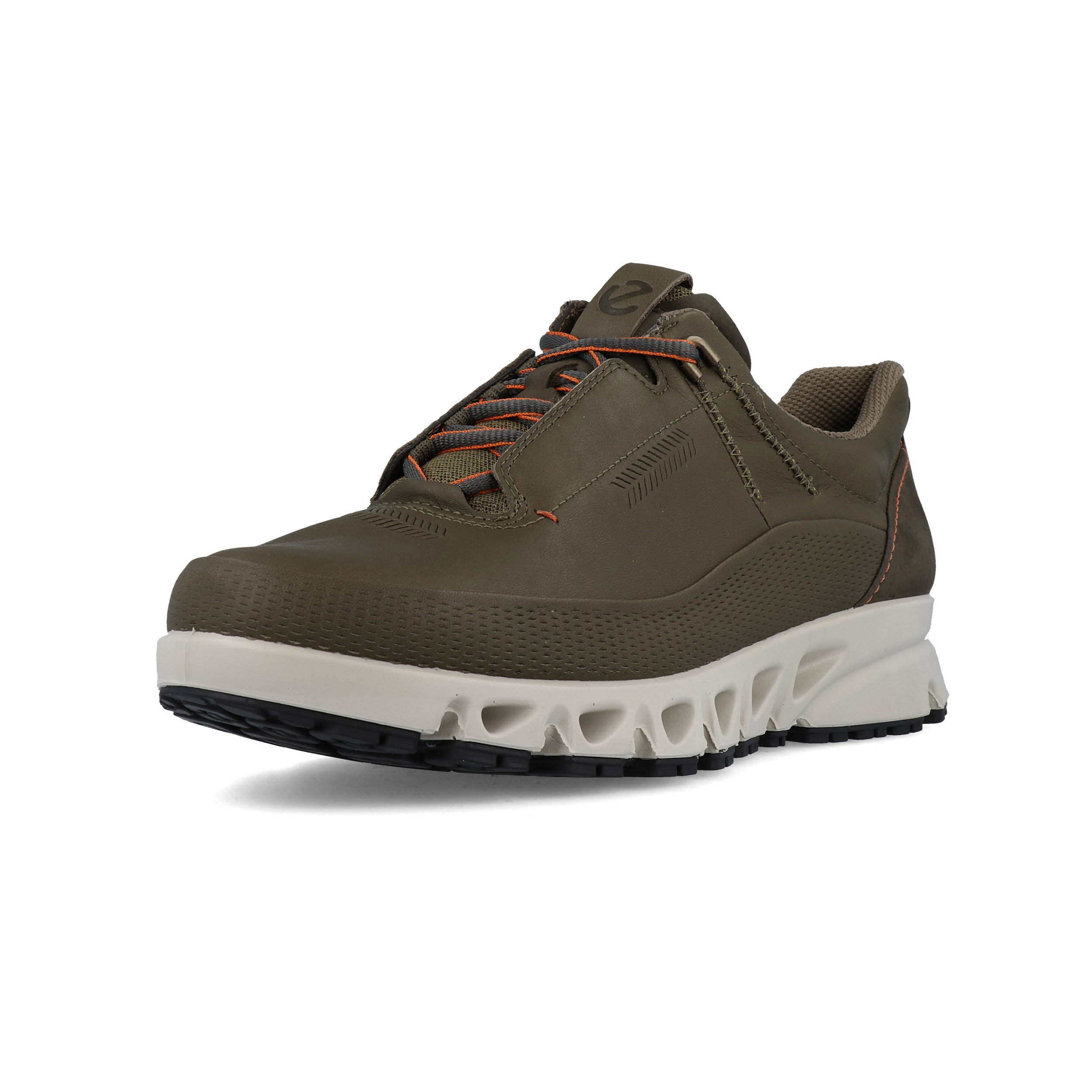 Details about Ecco Mens Omni Vent Walking Shoes Green Sports Outdoors Waterproof Breathable