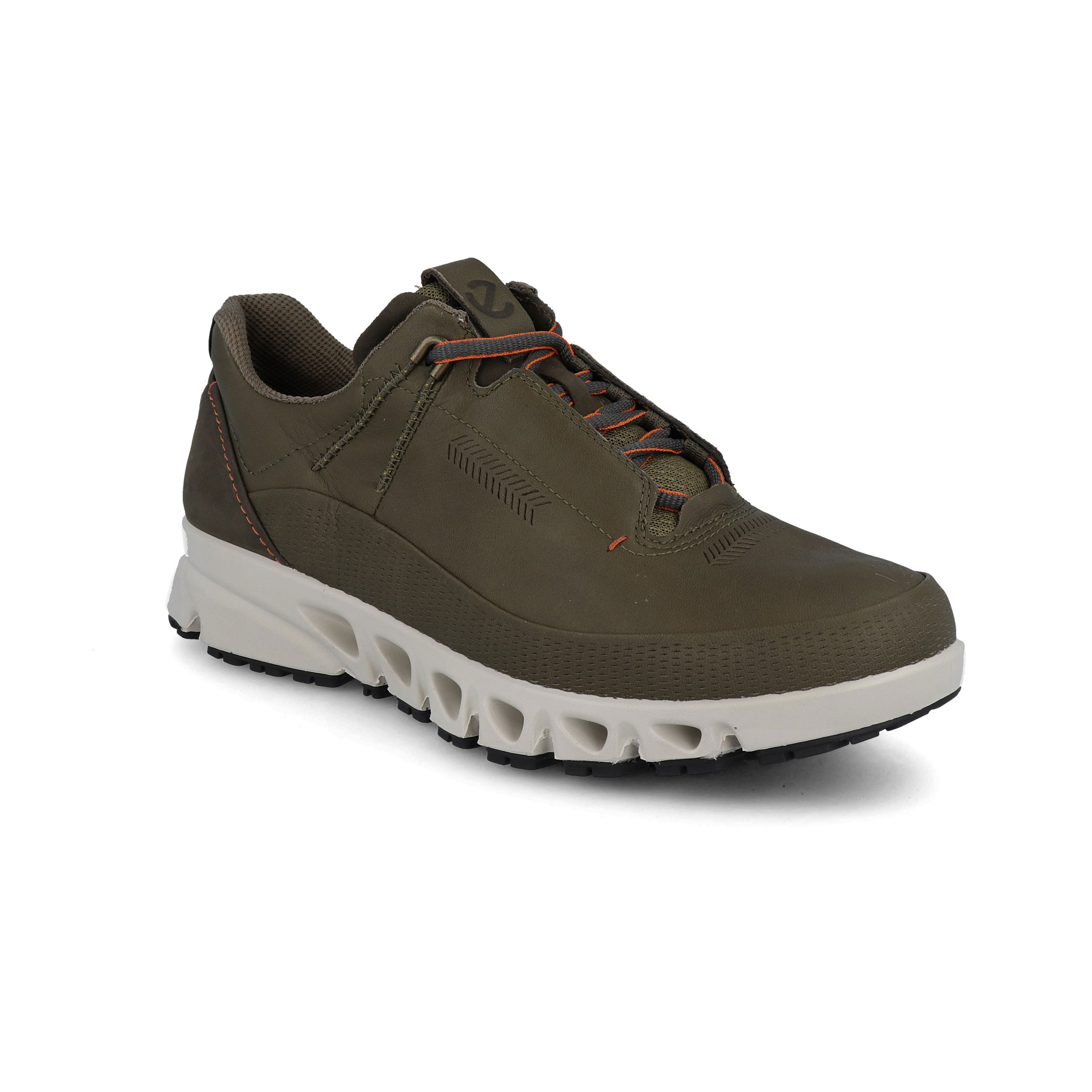 Ecco Mens Omni Vent Walking Shoes Green Sports Outdoors Waterproof Breathable