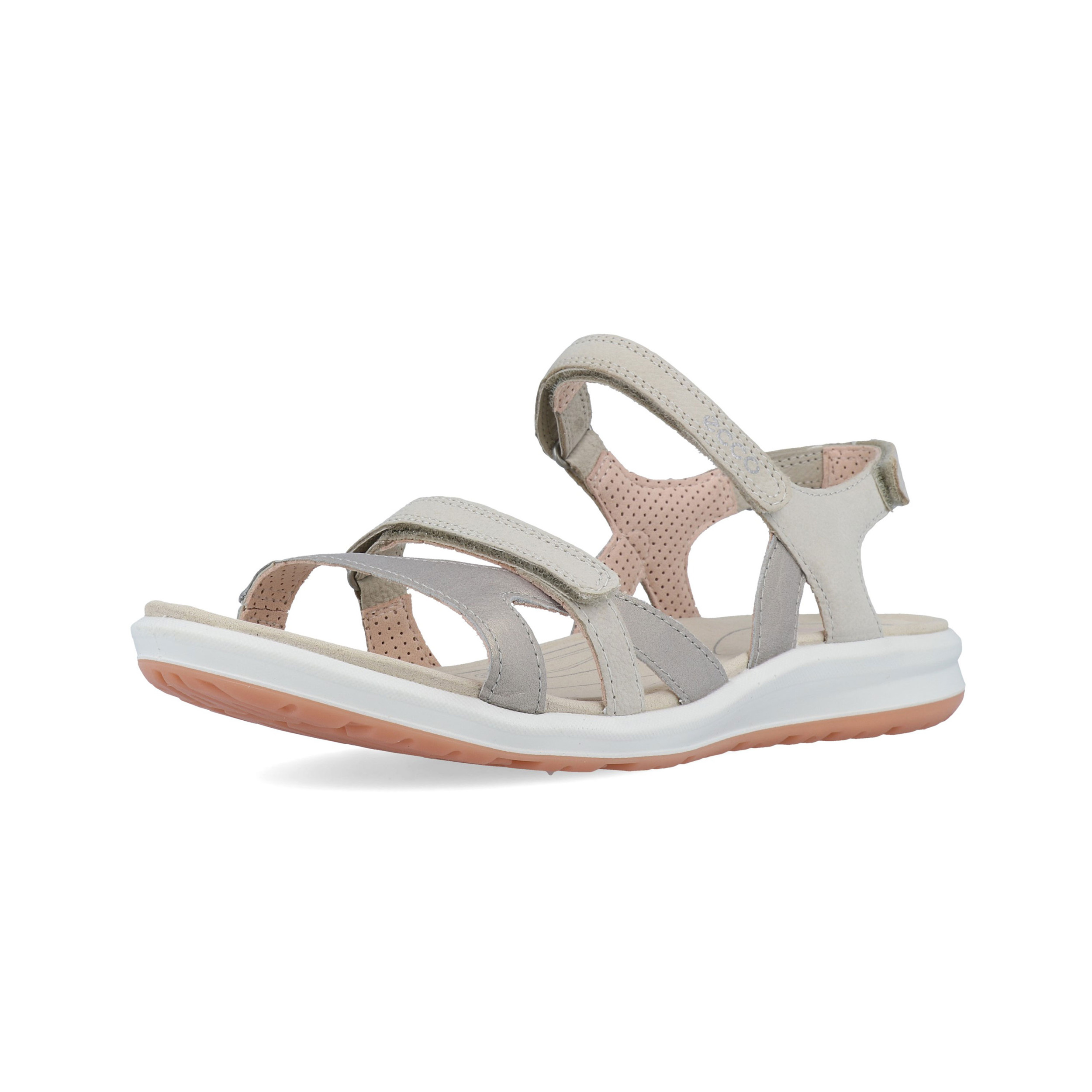 33f9bd9a51 Details about Ecco Womens Cruise II Walking Shoes Sandals White Sports  Outdoors Breathable