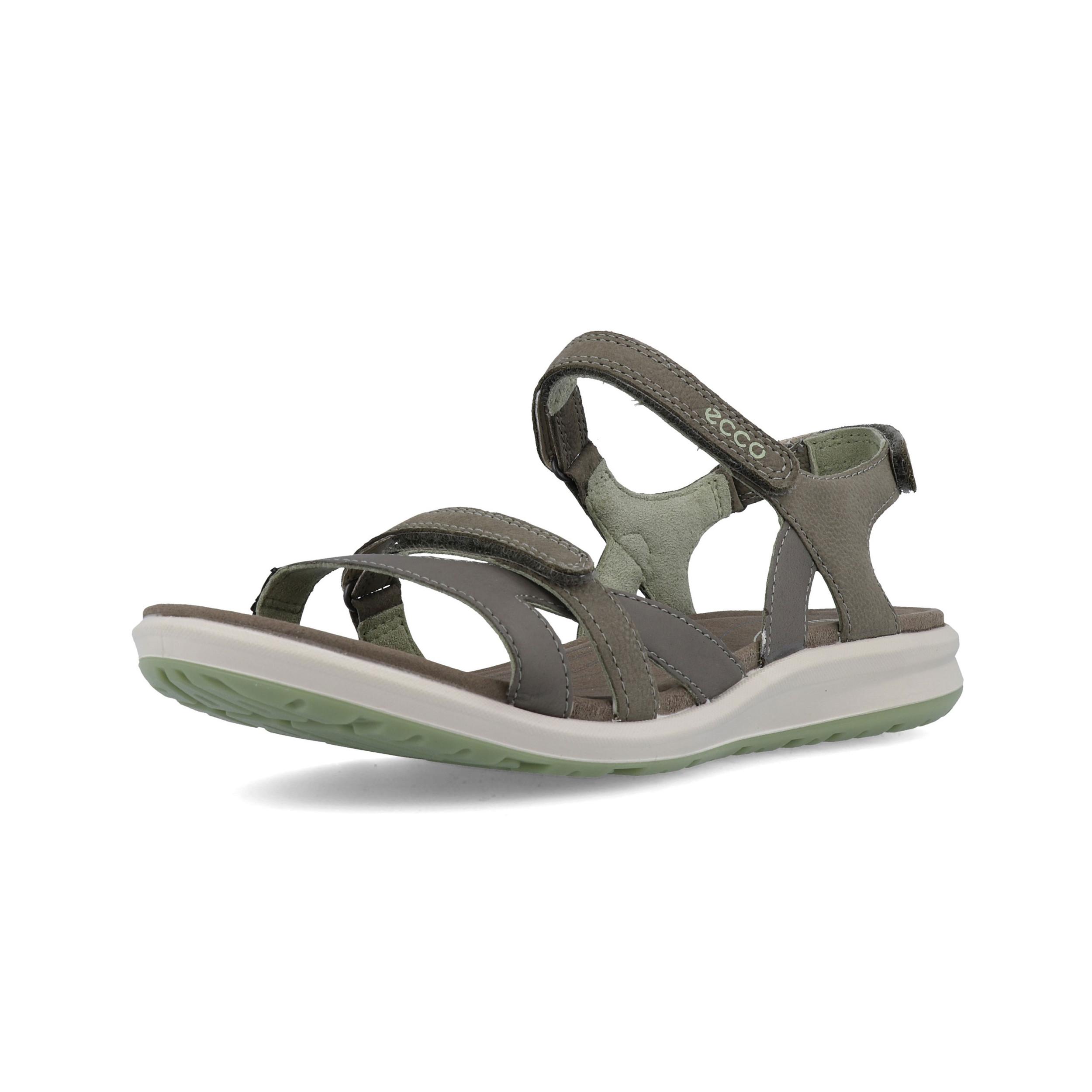 e3ae0616c74ec Ecco Womens Cruise II Walking Shoes Sandals Green Grey Sports Outdoors