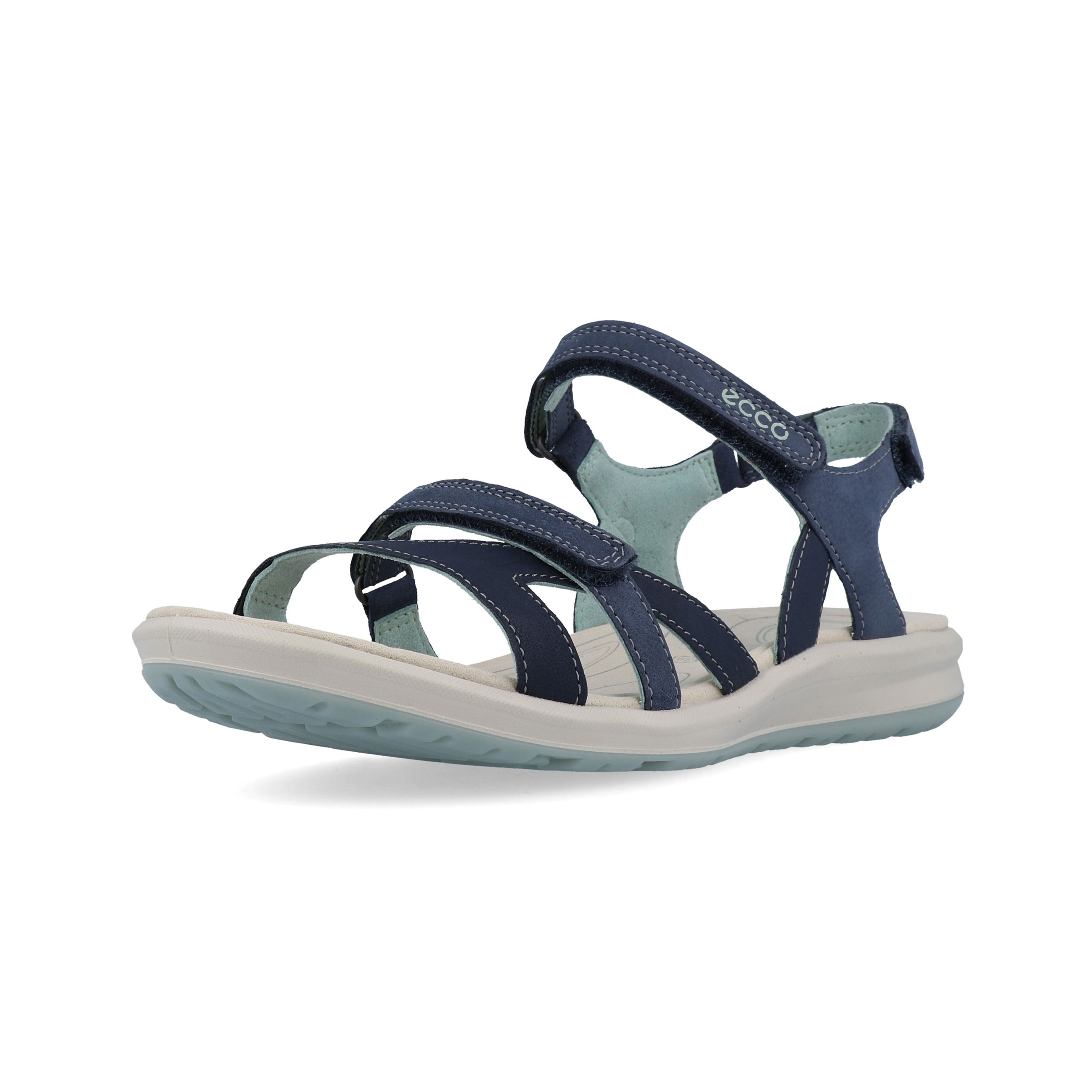 26032e9c3a Details about Ecco Womens Cruise II Walking Shoes Sandals Navy Blue Sports  Outdoors Breathable