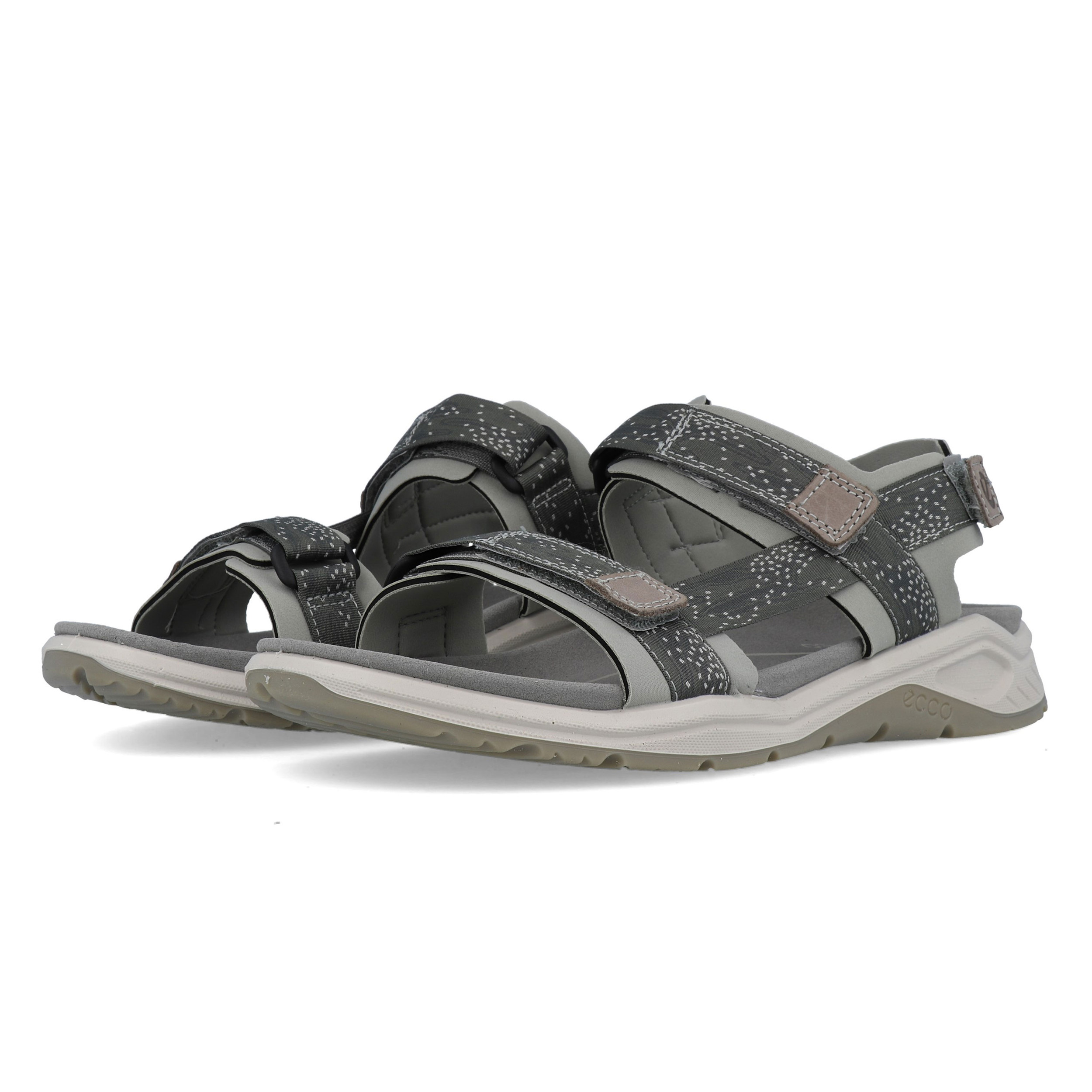 26a60fe53437c Details about Ecco Womens X Trinsic Walking Shoes Sandals Grey Sports  Outdoors Breathable