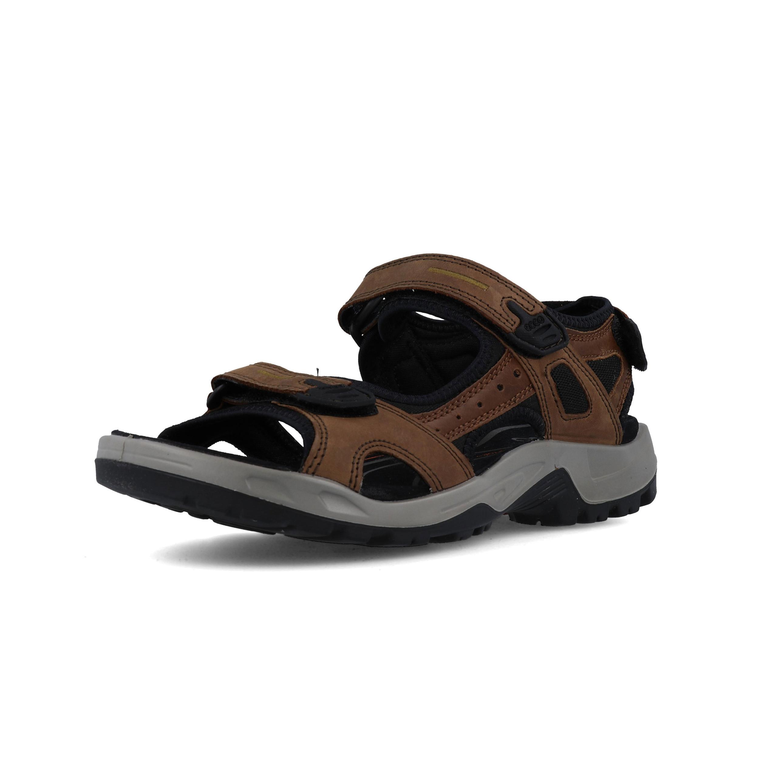 ECCO HERREN SUPER Sandalen Outdoor Trekking Schuhe! LEDER! TOP ZUSTAND!!! Gr.46