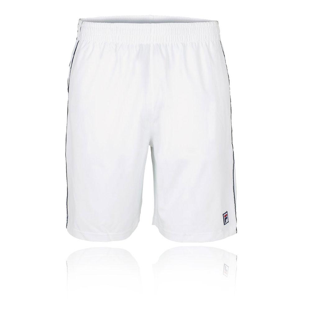 Dettagli su Fila Uomo Heritage Tennis Pantaloncini Shorts Pantaloni Bianco