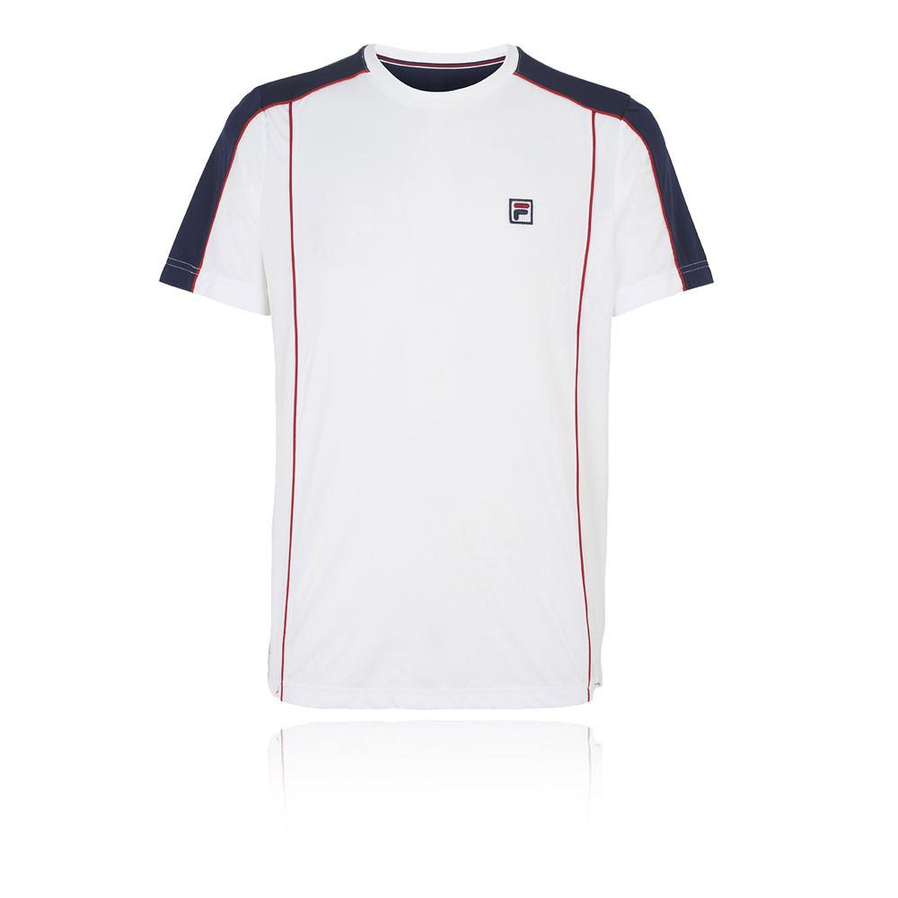 37772f30f06 Fila Heritage Crew Tennis T-Shirt - SS19   SportsShoes.com