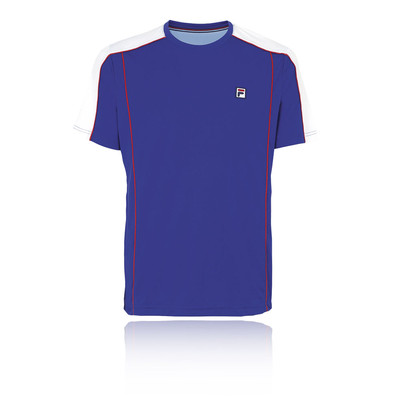 Fila Heritage Crew Tennis T-Shirt - SS19