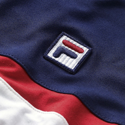 Fila Heritage 1/4 Zip Windbreaker Top