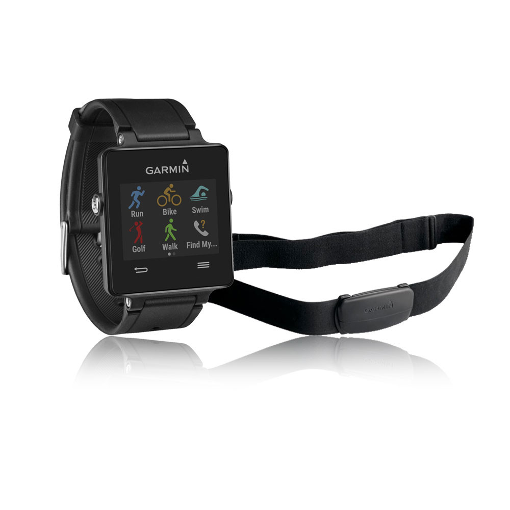Garmin Vivoactive GPS Smartwatch Plus Heart Rate Monitor ...