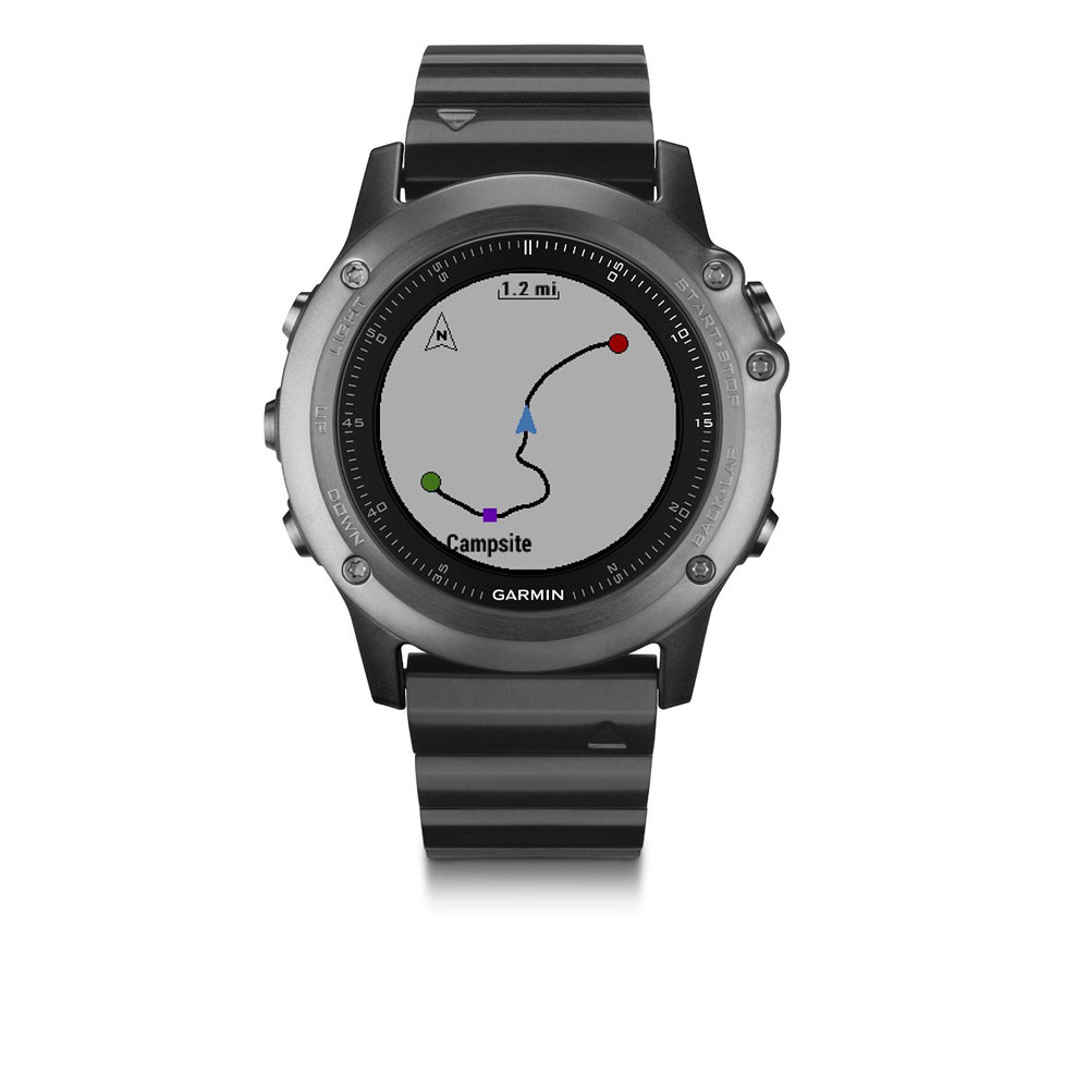 Garmin Fenix 3 Sapphire Multisport Training GPS Watch ...
