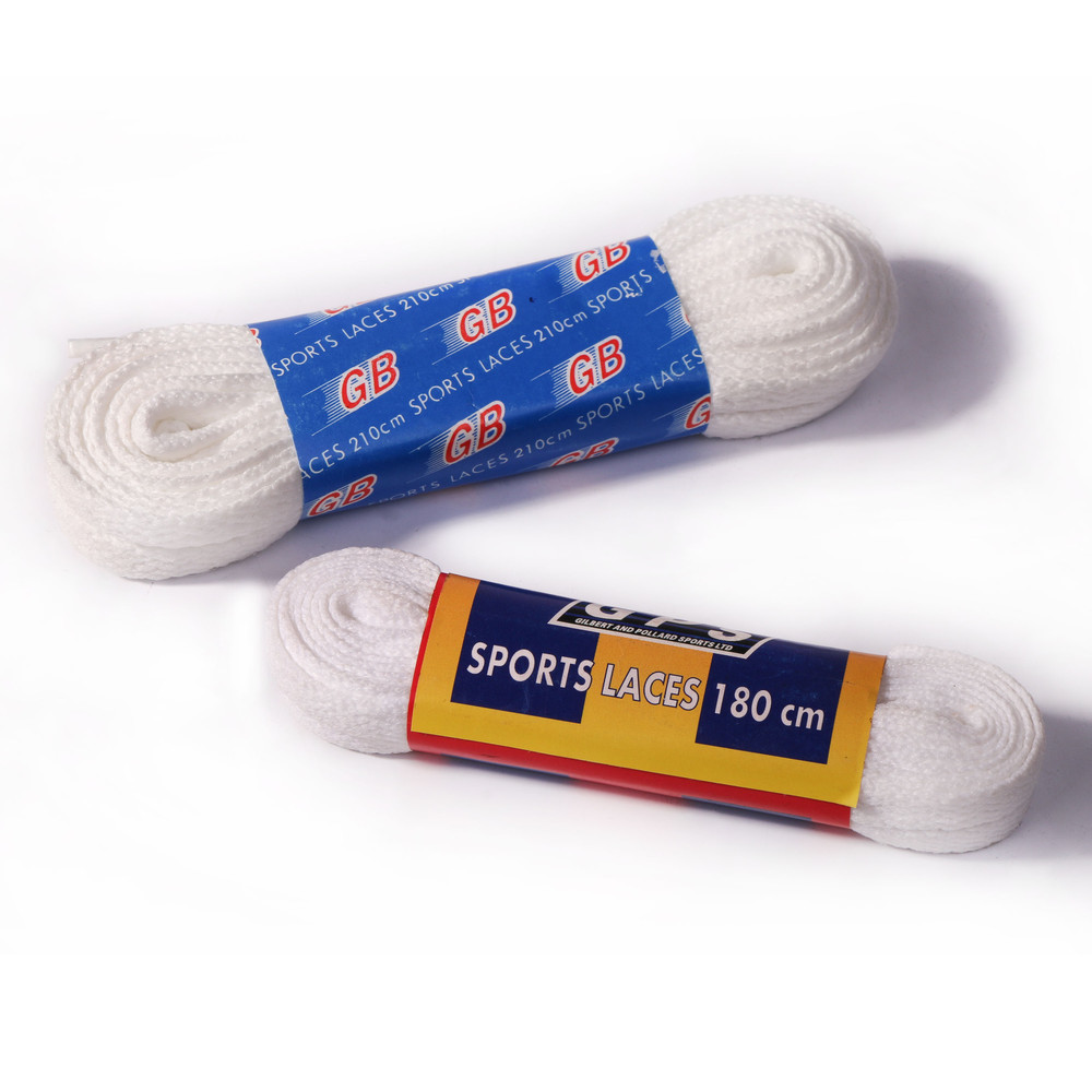 Gilbert White Shoe Laces