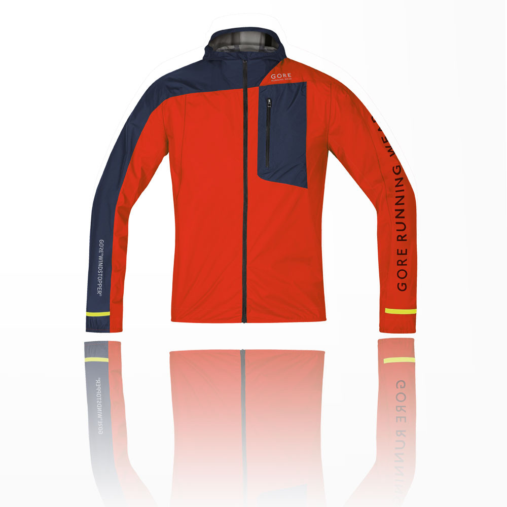 Gore Fusion Windstopper Active Shell Running Jacket - AW17