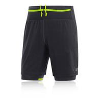 Gore R7 2in1 Pantalones cortos de running - AW18