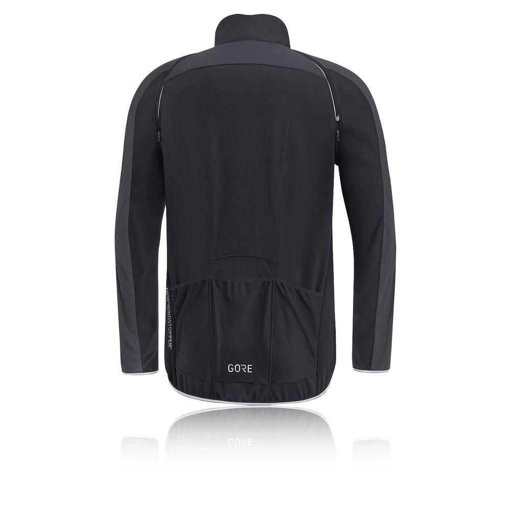 Gore C3 Women Gore Windstopper Phantom Zip Off Jacket Activewear Top Sport