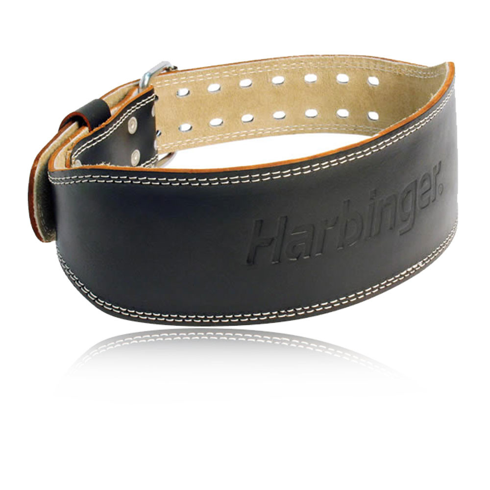 Harbinger 4 Inch Padded Leather Belt - AW19