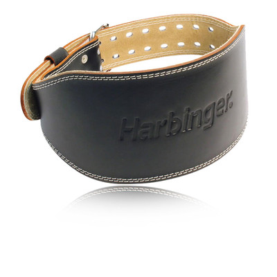 Harbinger 6 pouce Padded Leather Belt - SS21