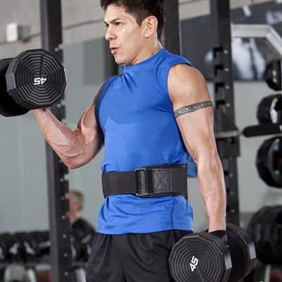 Harbinger Firm Fit Contour Gym Belt - SS20