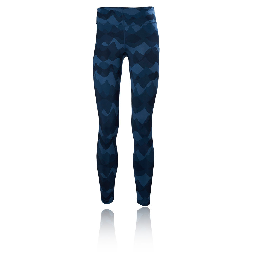 Image is loading Helly-Hansen-VTR-Printed-Womens-Blue-Running-Sports-