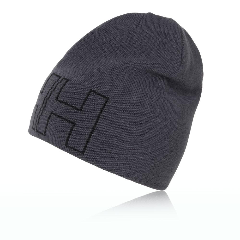 33cd60976a132 Helly Hansen Unisex Grey Outline Head Wear Training Sports Beanie Cap Hat