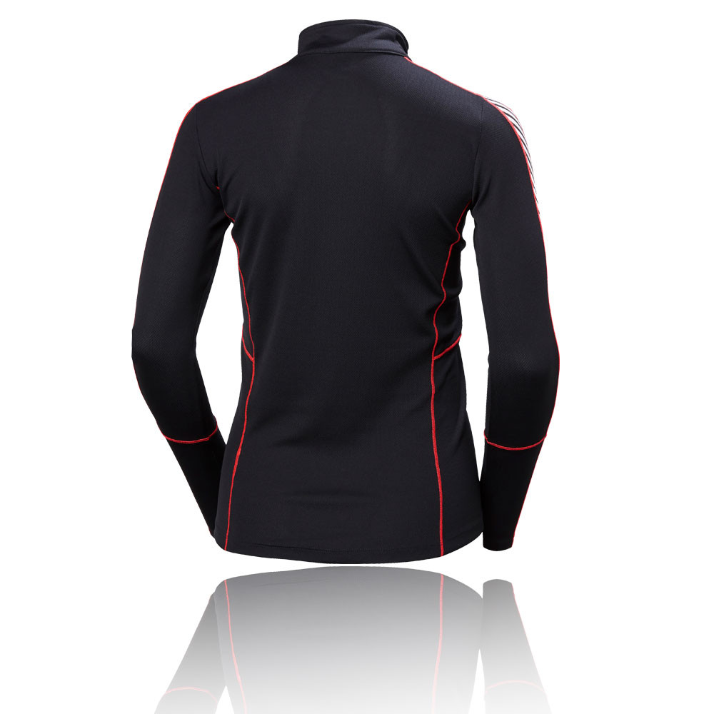 Helly-Hansen-Womens-HH-1-2-Zip-Lifa-Baselayer-Top-Sport-Training-Sweatshirt-Blue thumbnail 5