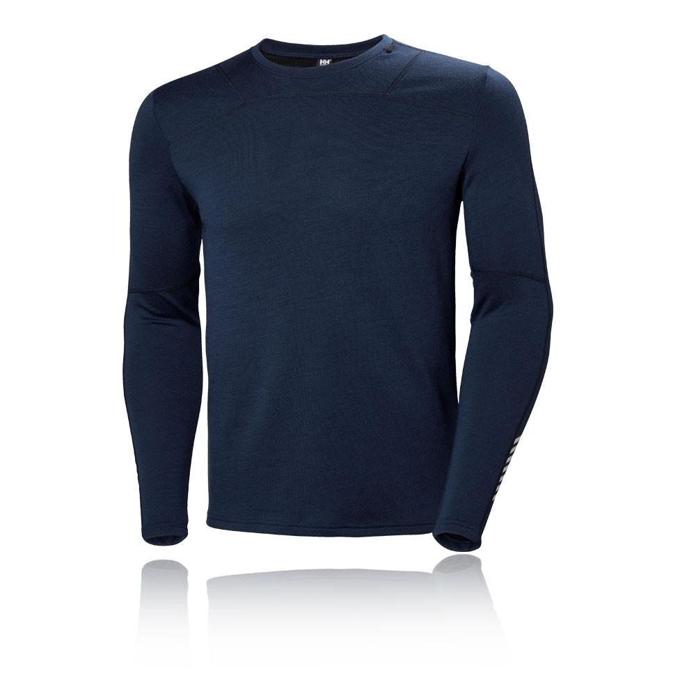 Camping & Outdoor Helly Hansen Damen HH Lifa Active Grafik Langarm Shirt Top Blau Sport Outdoor