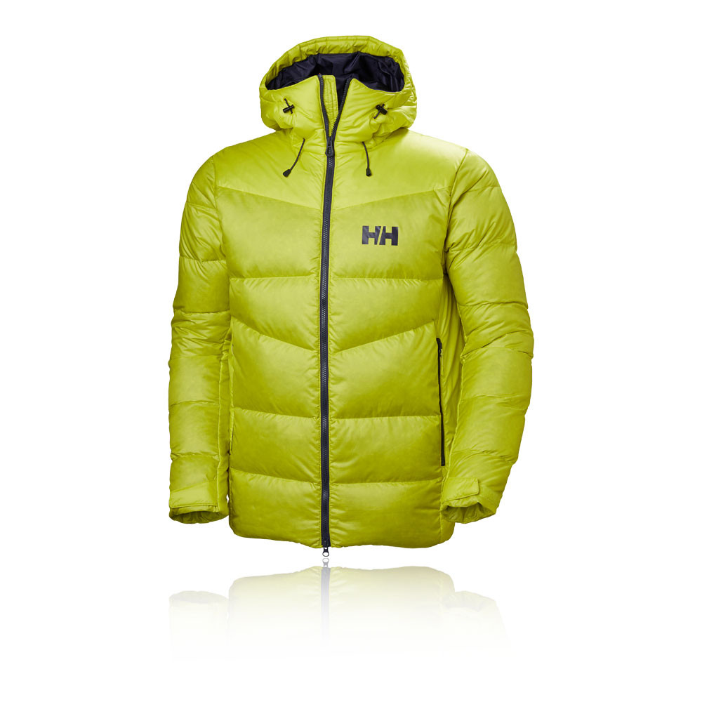 premium selection bde00 5f62b Details about Helly Hansen Mens Vanir Icefall Down Jacket Top Green Sports  Outdoors Full Zip