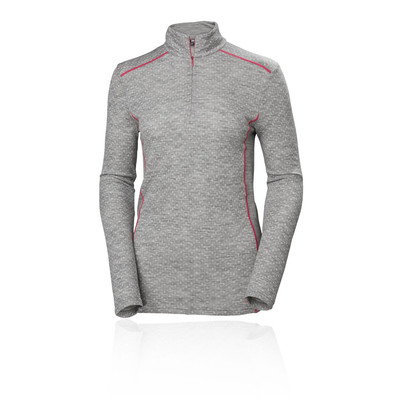 Helly Hansen Merino Mid Graphic Women's Half Zip Top - AW19