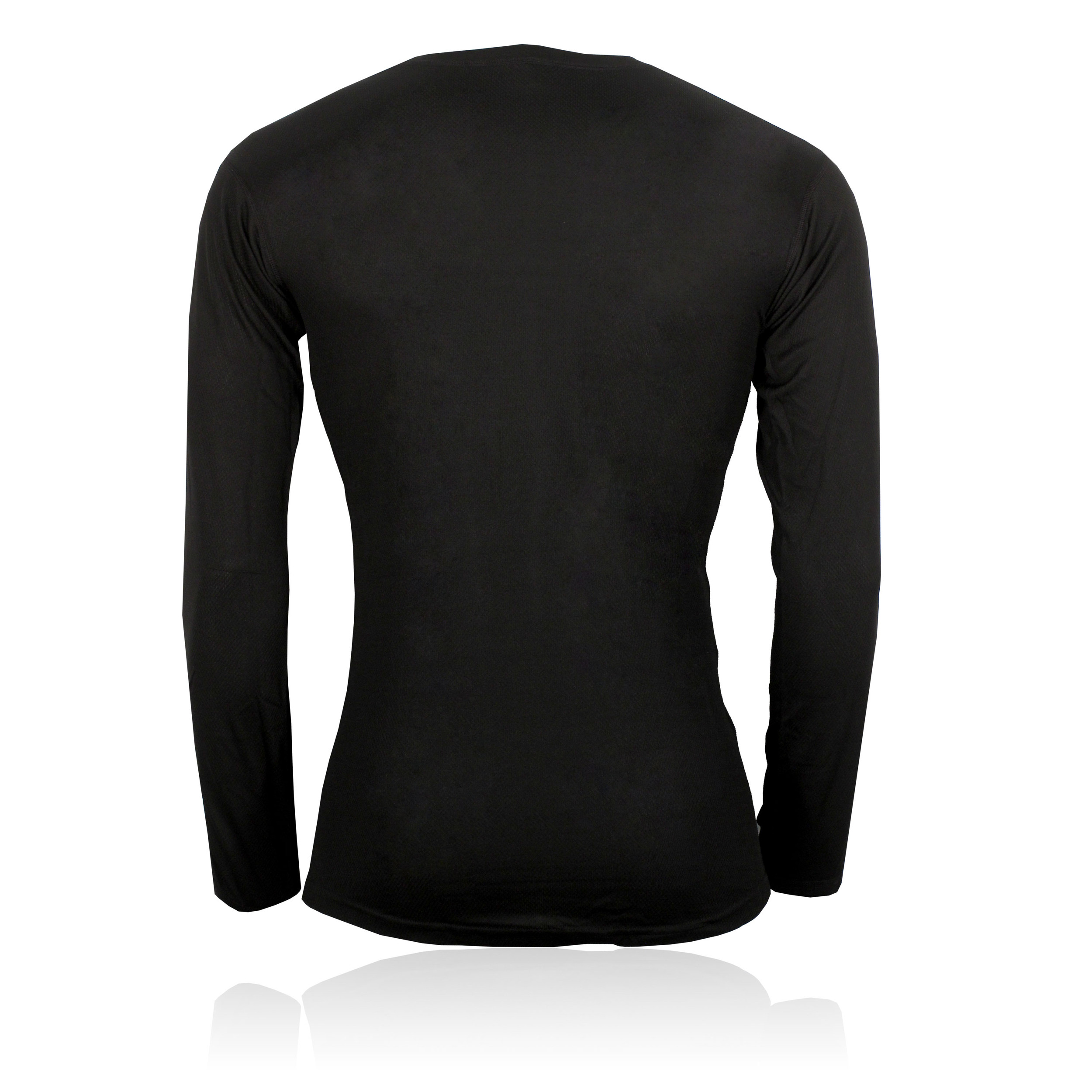 bfb866608c Details about Helly Hansen Mens Black Long Sleeve Athletic Running Crew  Neck Baselayer Top New