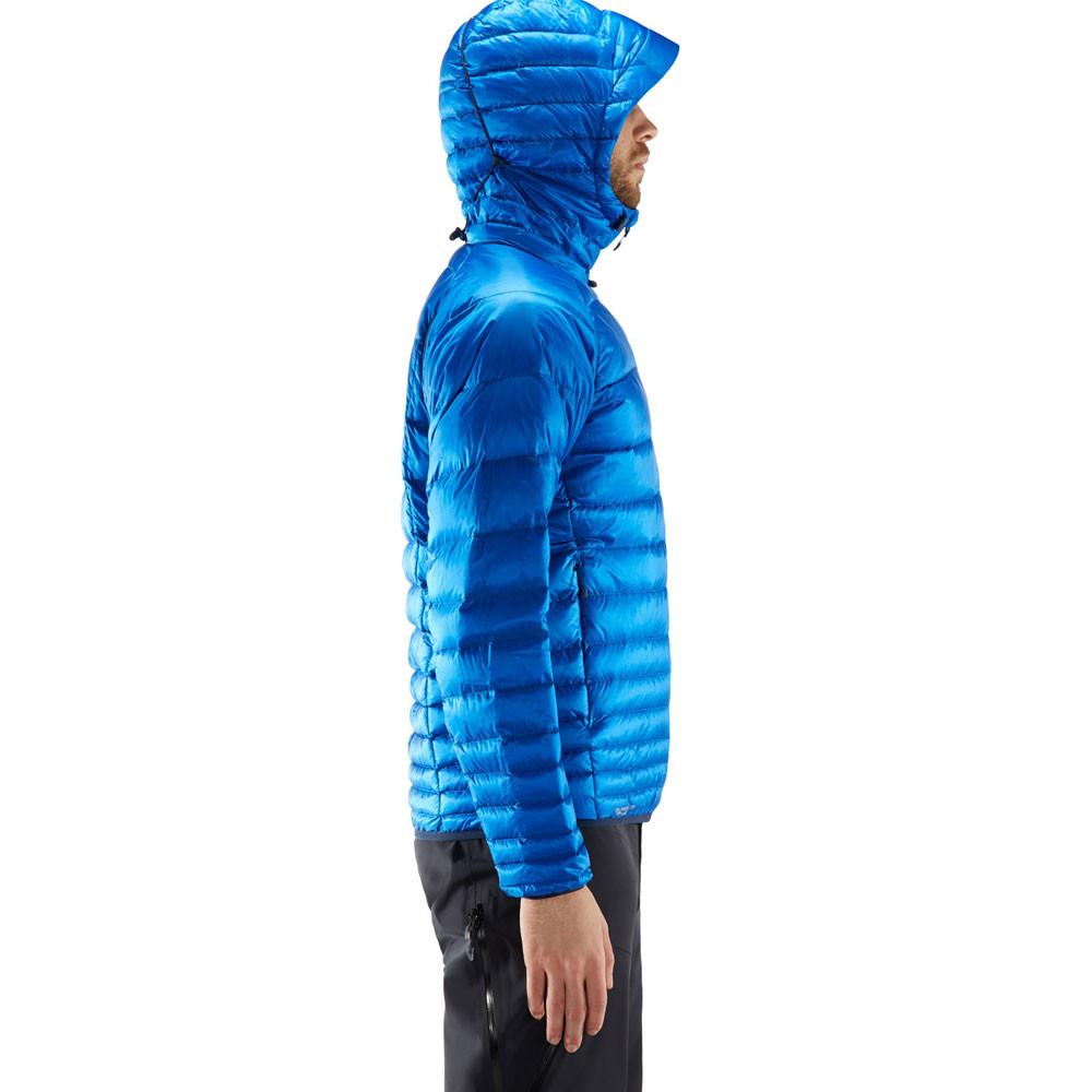 Haglofs Homme Essens Down Veste Homme Bleu Sports Plein Air Chaud Coupe-vent