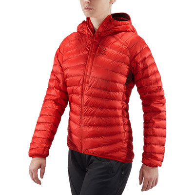 Haglofs Essens Down para mujer Hooded chaqueta - AW19