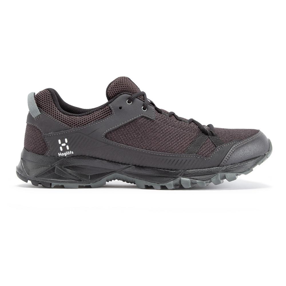 miniature 22 - Haglofs Mens Trail Fusible Chaussures de marche-Noir Sport Extérieur Respirant