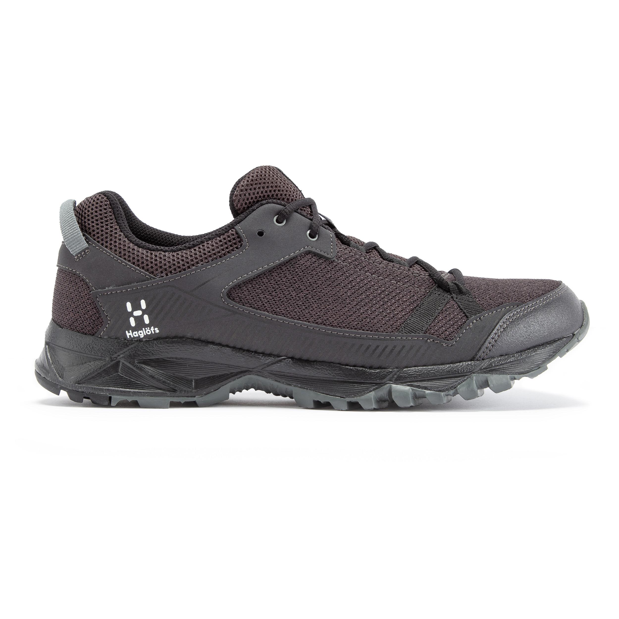 miniature 7 - Haglofs Mens Trail Fusible Chaussures de marche-Noir Sport Extérieur Respirant