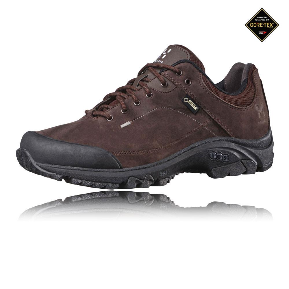Haglofs Ridge II Gore-Tex Herren Wanderschuhe Trekking Schuhe Schwarz Braun