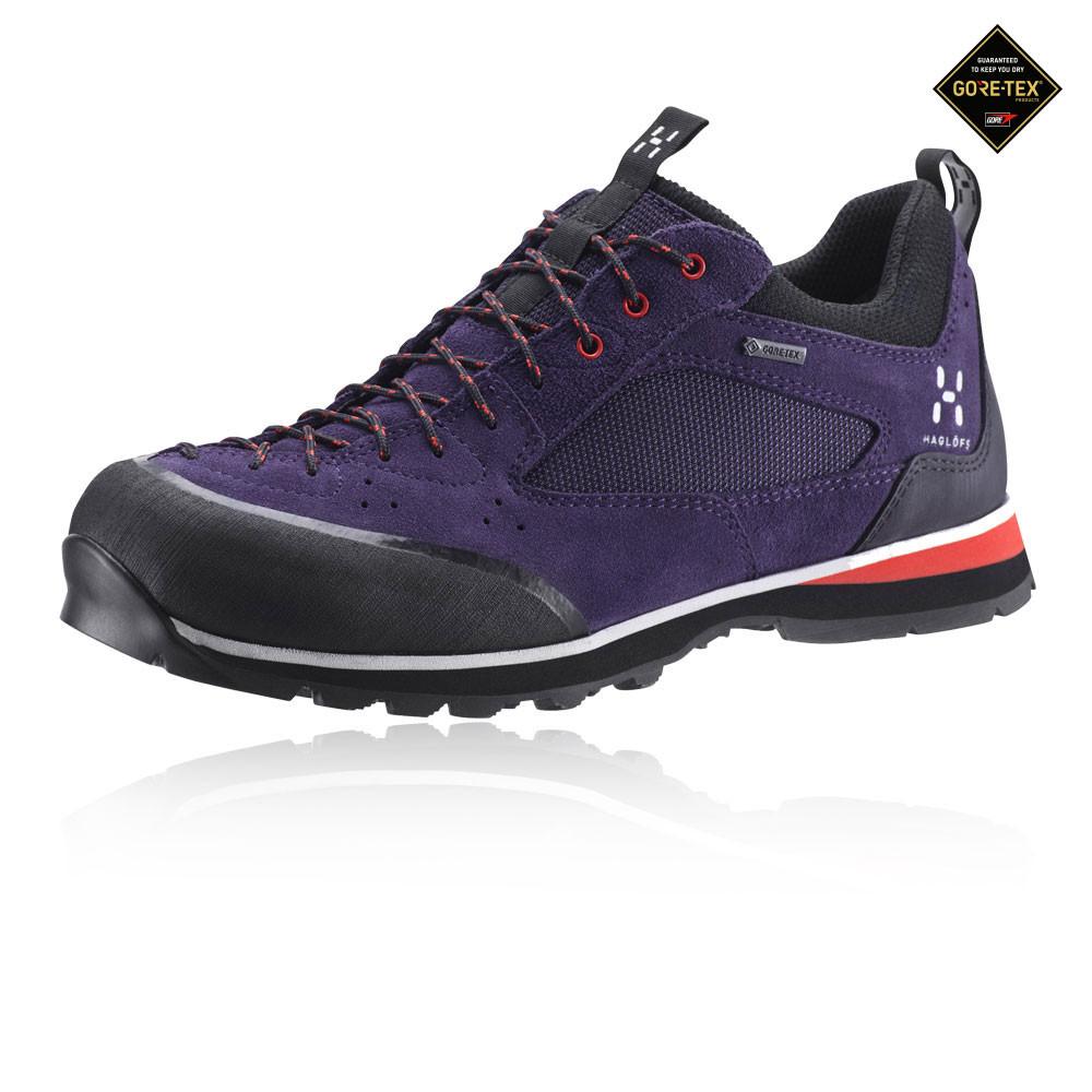 a6090083090 Details about Haglofs Roc Icon Womens Purple Waterproof Gore Tex Walking  Hiking Shoes