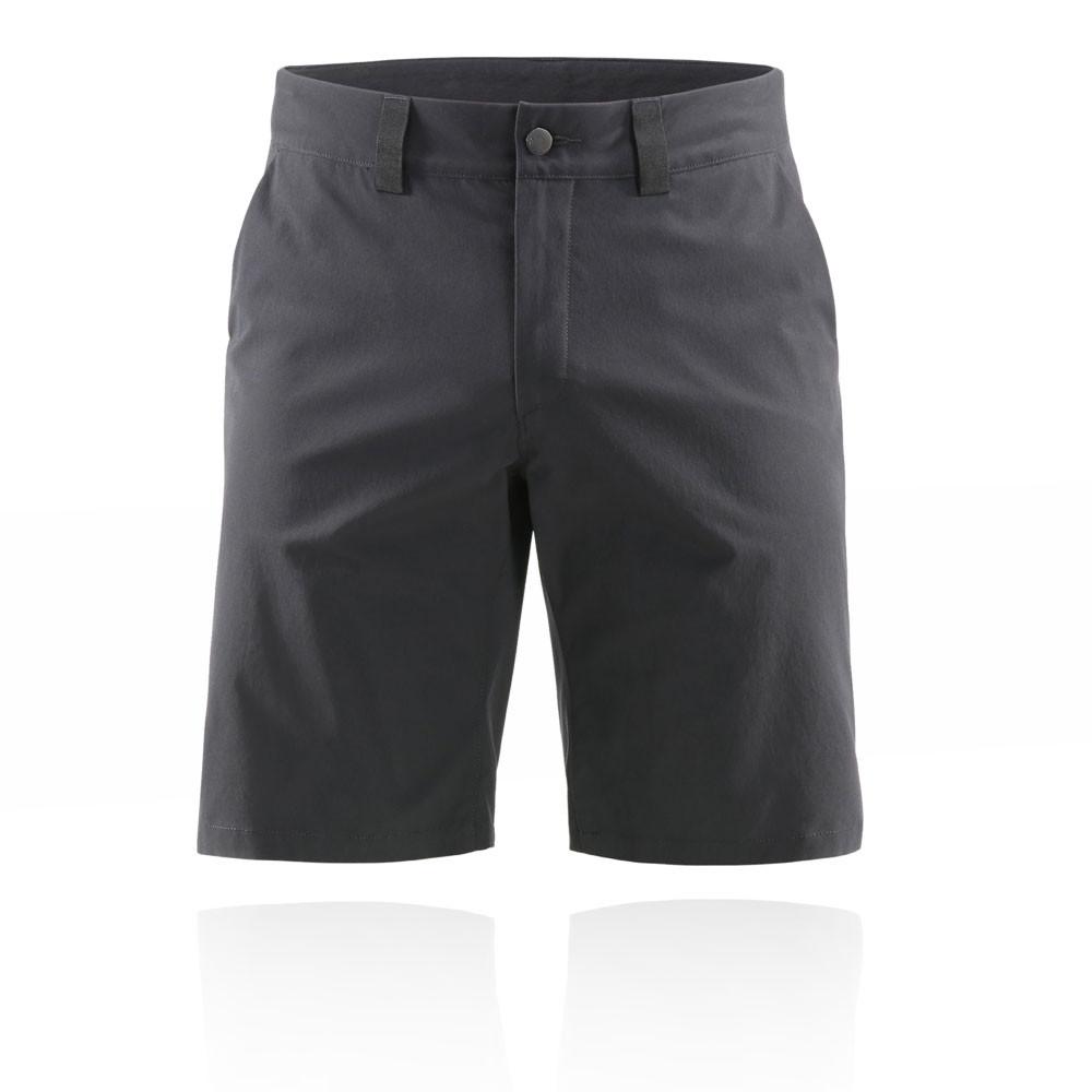 La imagen se está cargando Haglofs-Hombre-Mid-Solid-Pantalones-Cortos -Fondo-Negro- 83f7c7edb4bdc