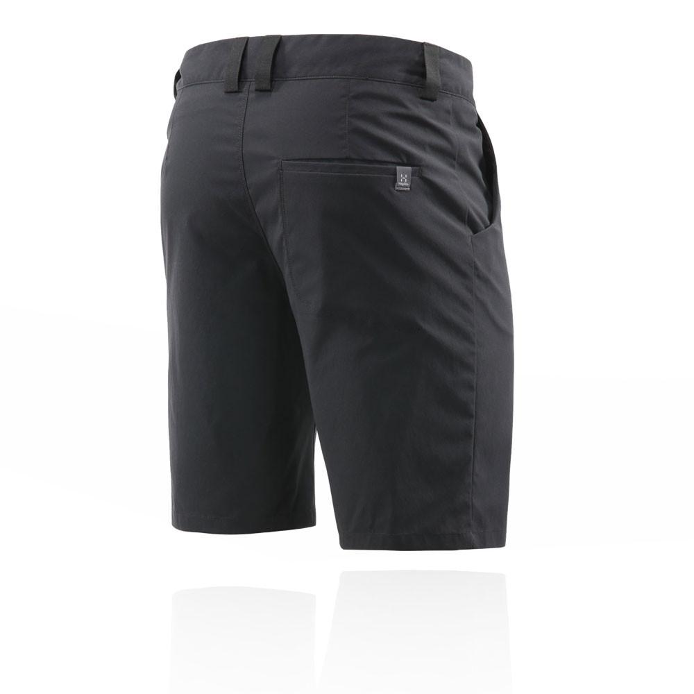 Haglofs Hombre Mid Solid Pantalones Cortos Fondo Negro Deporte ... 9b3972d0f5070