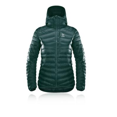 Haglofs Essens Down para mujer Hooded chaqueta