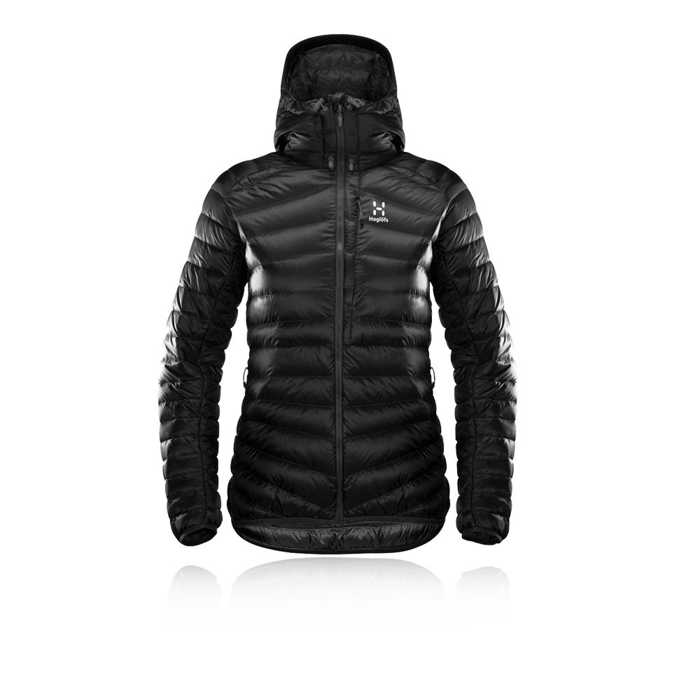Haglofs Essens Down para mujer Hooded chaqueta - AW19