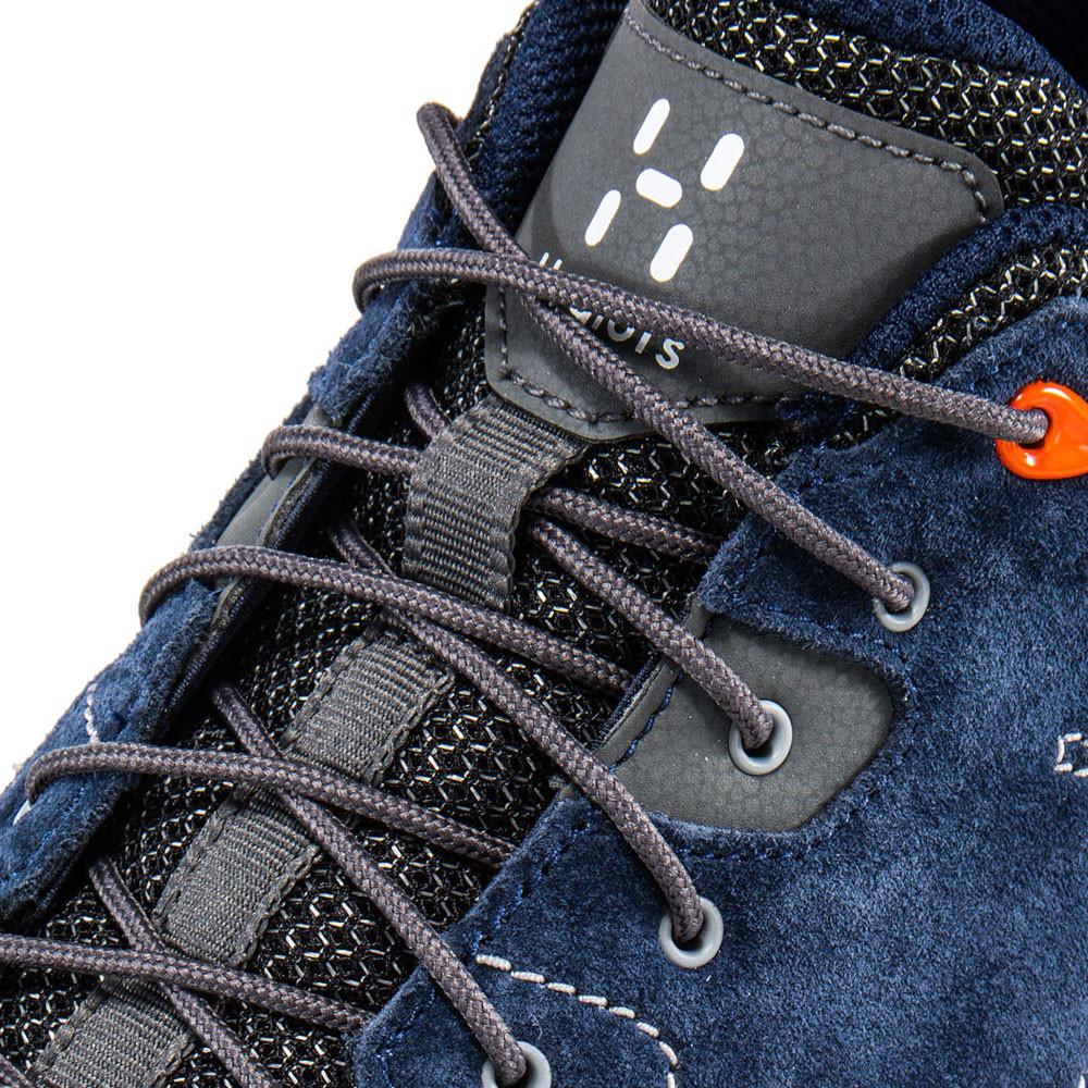 Haglofs Mens Roc Claw Walking Shoes Navy Blue Orange