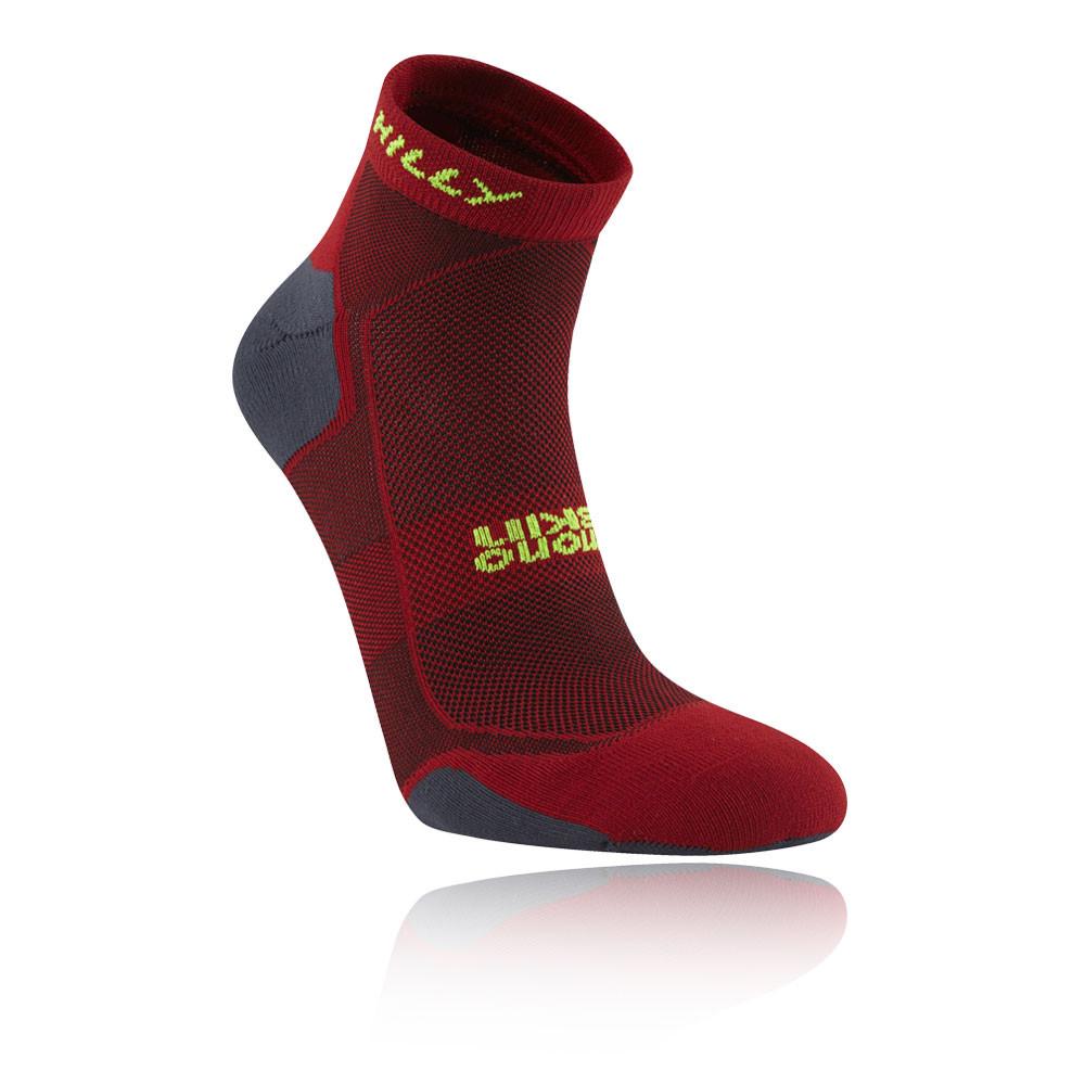 Hilly Pace Quarter Running Socks - SS20